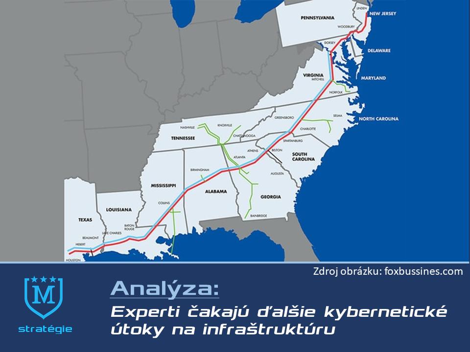 Môžeme očakávať podtatne viac útokov ako na Colonial pipeline